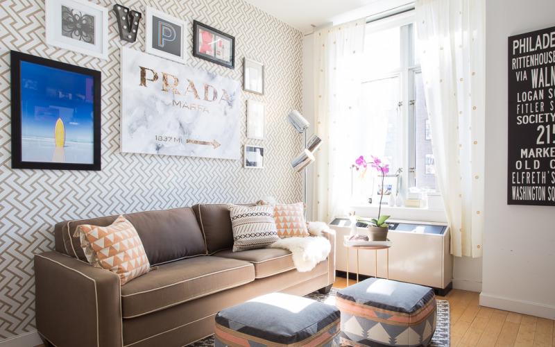 Оформление дизайна комнаты по правилам